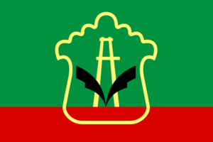 Almetyevsky District - Image: Flag of Almetyevsky rayon (Tatarstan)