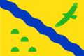 Flag of Novovarshavsky rayon (Omsk oblast).png