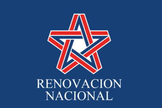 National Renewal (Chile) - Image: Flag of Renovacion Nacional