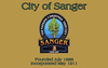 Flag of Sanger, California