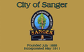 Flag of Sanger, California.png