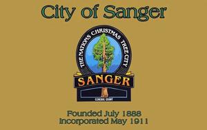 Sanger, California - Image: Flag of Sanger, California