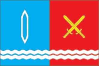 Teykovo - Image: Flag of Teykovo (Ivanovo oblast)