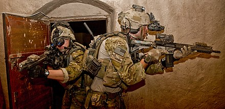 Army Rangers take part in a raid during operation in Nahr-e Saraj, Afghanistan Flickr - DVIDSHUB - Operation in Nahr-e Saraj (Image 5 of 7).jpg