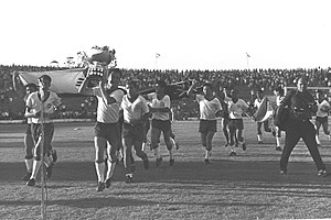 Israel national football team - Israel winning the 1964 AFC Asian Cup