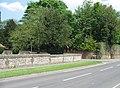 Flint Wall - Worting churchyard - geograph.org.uk - 796660.jpg