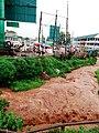 Flood river full of erosion in Daraja Mbili Kisii County Kenya East Africa.jpg