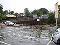 Flooding at Tesco, Brighouse - geograph.org.uk - 477322.jpg