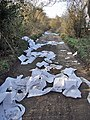 Fly Tipping near Wouldham - geograph.org.uk - 1226854.jpg