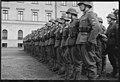 """Fo30141711140059 """"Reservebataljon Holmestrand paraderer for Quisling på Slottsplassen"""" 1942-06-14 (NTBs krigsarkiv, Riksarkivet).jpg"""