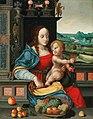 Follower of Joos van Cleve - The Madonna of the Cherries.jpg