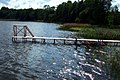Footbridge in Meirānu lake - panoramio.jpg