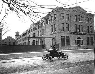 Charles E. Sorensen - Ford Piquette Avenue Plant