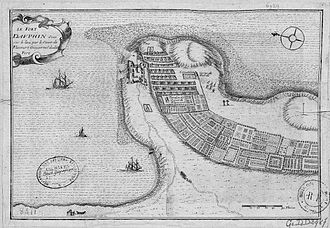 Tôlanaro - Plan of the fort from 1650