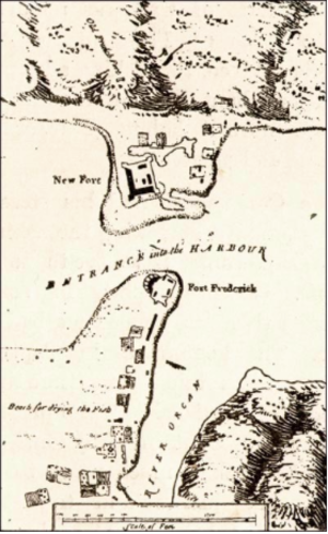 Fort Frederick (Newfoundland) - Fort Frederick Newfoundland Map