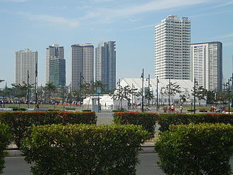 Taguig - The district of Fort Bonifacio