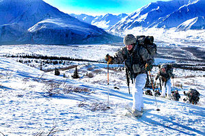 Fort Richardson (Alaska) - Fort Richardson Snowshoeing