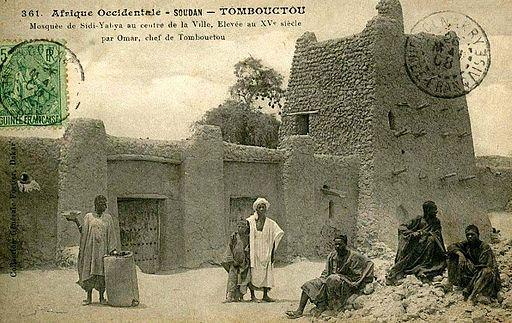 Fortier 361 Timbuktu Sidi-Yabya Mosque