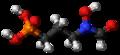 Fosmidomycin 3D ball.png