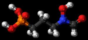 Fosmidomycin - Image: Fosmidomycin 3D ball
