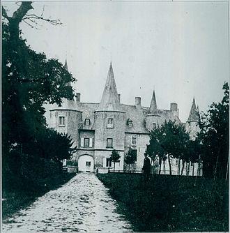 Wijnendale Castle - Kasteel van Wijnendale 1852