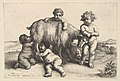 Four boys, a young satyr, and a goat MET DP822959.jpg
