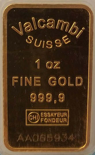 Fineness - 1 troy ounce of four nines fine gold (999.9)