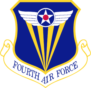 Fourth Air Force - Shield of the Fourth Air Force