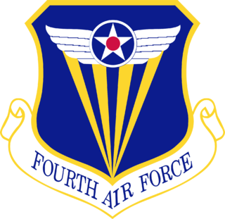 Fourth Air Force Numbered air force of the United States Air Force responsible for reserve air mobility forces