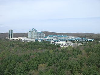 Native American gaming - The Foxwoods Casino in Mashantucket, Connecticut
