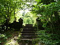 Fr Vexincourt Chapelle du lac de la Maix - stairs.jpg