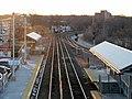 Framingham station looking west from bridge, January 2015.JPG