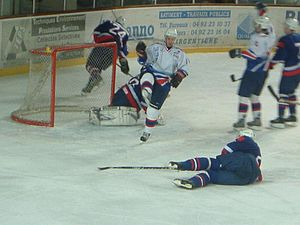 François Rozenthal - Rozenthal, at the 2003 Euro Ice Hockey Challenge