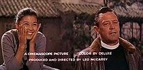 France Nuyen-William Holden in Satan Never Sleeps trailer.jpg