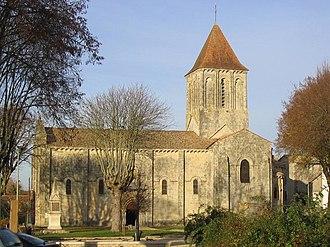 Melle, Deux-Sèvres - Saint Pierre