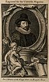 Francis Bacon, Viscount St Albans. Line engraving after J. H Wellcome V0000264.jpg