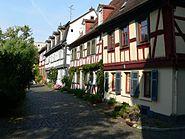 Frankfurt Höchst Burggraben Fachwerkhäuser
