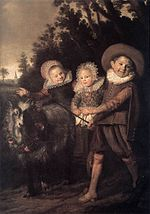 Frans Hals - Three Children with a Goat Cart - WGA11064.jpg