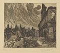 Frans Nackaerts - Naamstestraat 1914 = Louvain, rue de Namur - Graphic work - Royal Library of Belgium - S.III 80094.jpg