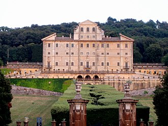 Aldobrandini family - The Villa Aldobrandini in Frascati.