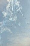 Frecce tricolori Air show Valtenesi del Garda Manerba 2016 figura bomba 2.jpg