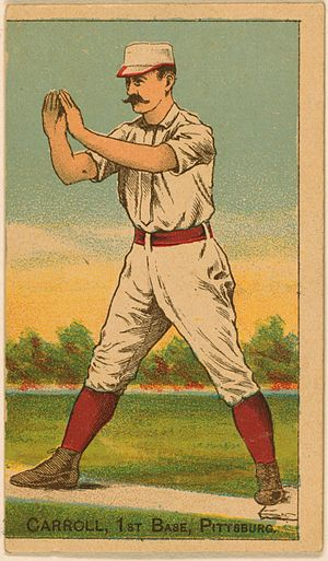 Fred Carroll - Fred Carroll 1887 baseball card