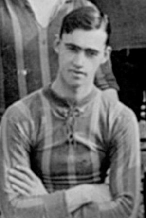 Frederick Chapple - Chapple while with Brentford in 1912.