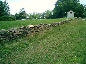 Fredericksburg and Spotsylvania National Military Park - Image: Fredburgsunkenlane