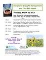 Free Workshop- Range Drought Meeting on Mar 28, 2013, in Leola, SD (8557646474).jpg