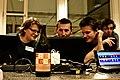 Free beer at FSCONS 2008.jpg