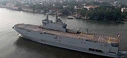 French Naval Ship Tonnerre at Kochi.jpg