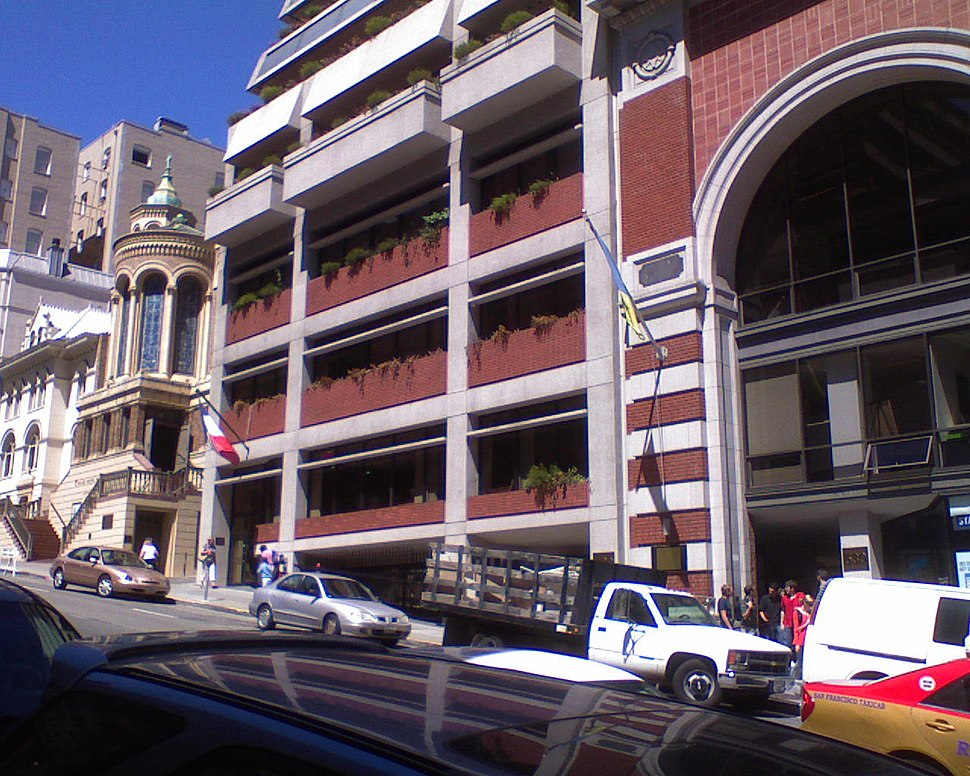 French and Ukrainian consulate-general in SF