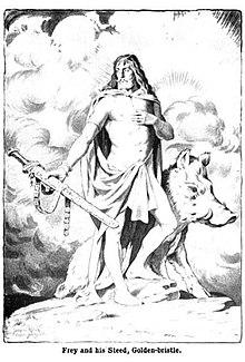 nordisk gud far til frej og freja
