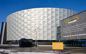 Friends Arena - The exterior of Nationalarenan